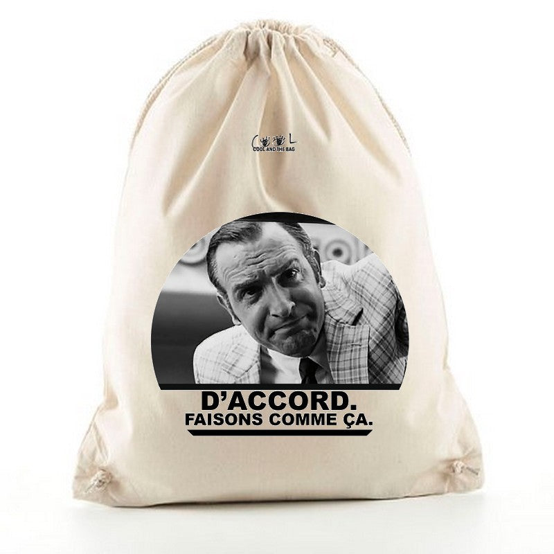 sac à dos cordelettes OSS 117