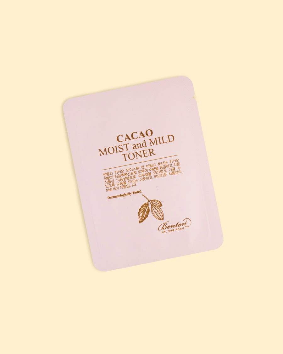 Cacao Moist and Mild Toner (3ml)