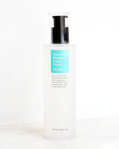 COSRX Two in One Poreless Power Liquid, skin care, skincare, clean beauty, vegan beauty, vegan skincare