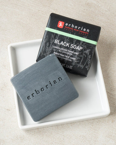 ERBORIAN Black Soap, cleanser, skincare, skin care