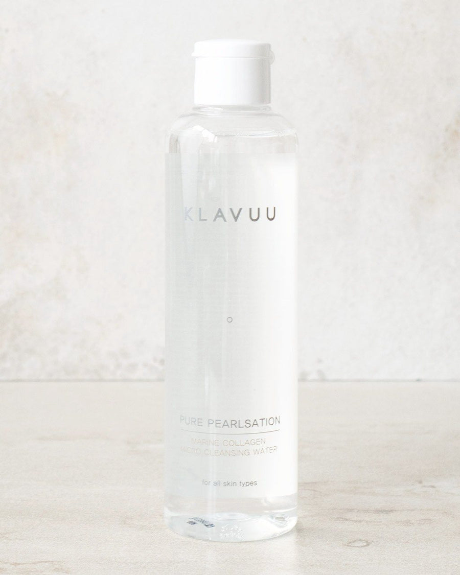 KLAVUU Pure Pearlsation Marine Collagen Micro Cleansing Water, cleanser, skincare, skin care, clean beauty