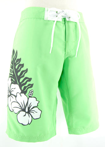 Long Hi Leaf Shorts