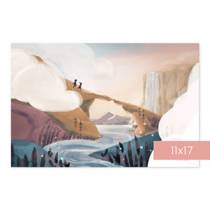 Pass Through the Clouds | Art Print Room Decor