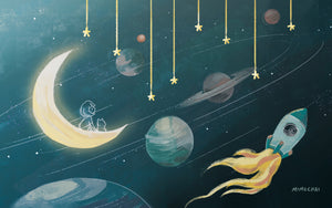 Free Emme & Hamstarcat Whimsical Space Desktop Wallpaper 4:3 2048x1536 dimension