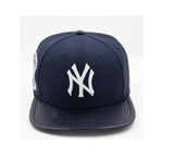 New York Yankees Logo Hat (M. Navy)