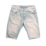 Distressed Rip Off Shorts (Cotton Blue)  /C4