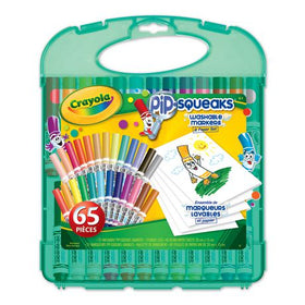 Pip-Squeaks Washable Marker and Paper Set