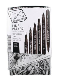 Graphik Line Marker Drawing Pens