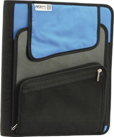 "Proplatinum 1.5"" Vertical Zipper Binder"