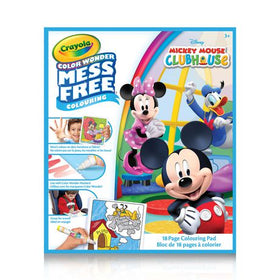 Color Wonder Mickey Mouse Clubhouse Mess Free Colouring Pad
