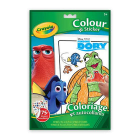 Finding Dory Colour And Sticker Book