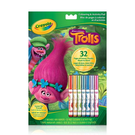 Trolls Colouring And Activity Pad