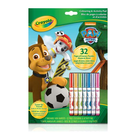 PAW Patrol Colouring and Activity Pad