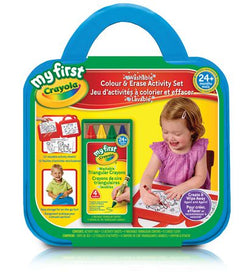 My First Washable Colour & Erase Activity Set