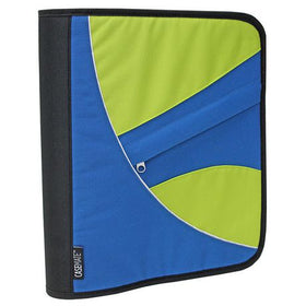 "1.5"" Ring Zippered Binder"