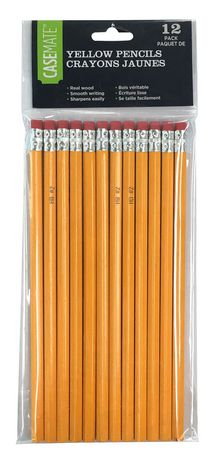 No.2 Yellow Woodcase Hb Pencils