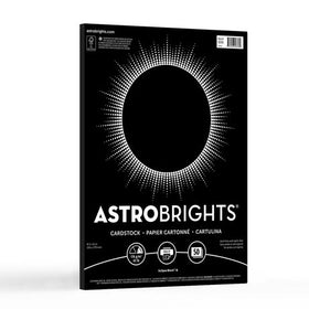 Astrobrights Eclipse Black Cardstock