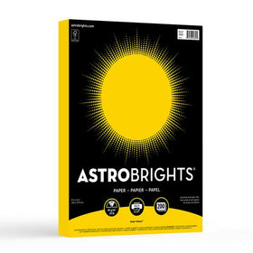 Astrobrights Solar Yellow Colour Paper