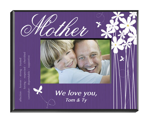 Personalized Bloomin' Butterfly Picture Frame