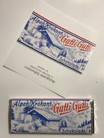 Reproduction German Gutti Gutti Chocolate Wrapper