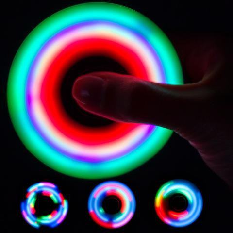 How to enhance your light up fidget spinner display like a futuristic kaleidoscope