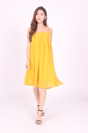 * LUXE * Sunny Flare Dress