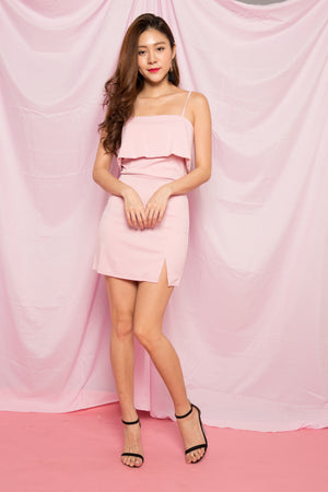 Sallie Cami Dress in Pink