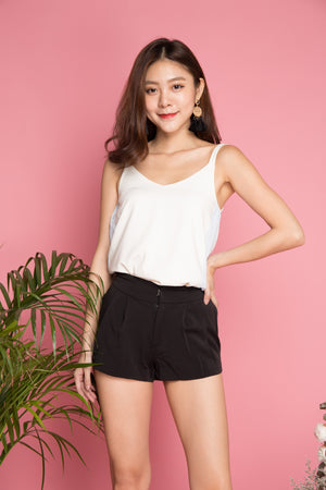 Carelie Casual Shorts in Black