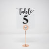 Rose Gold Metal Table Number Holders 323-R-S