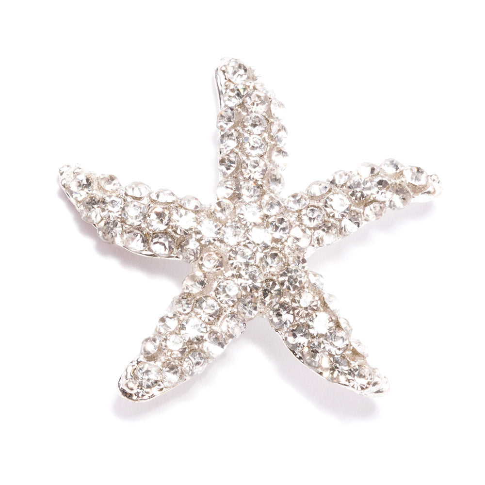 Rhinestone Starfish Buckle