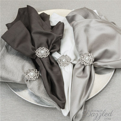 Wholesale Bling Napkin Rings