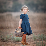 adventure dress | navy