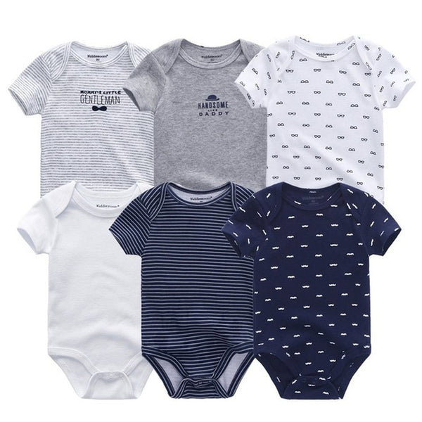 6 pcs - Set baby bodysuits