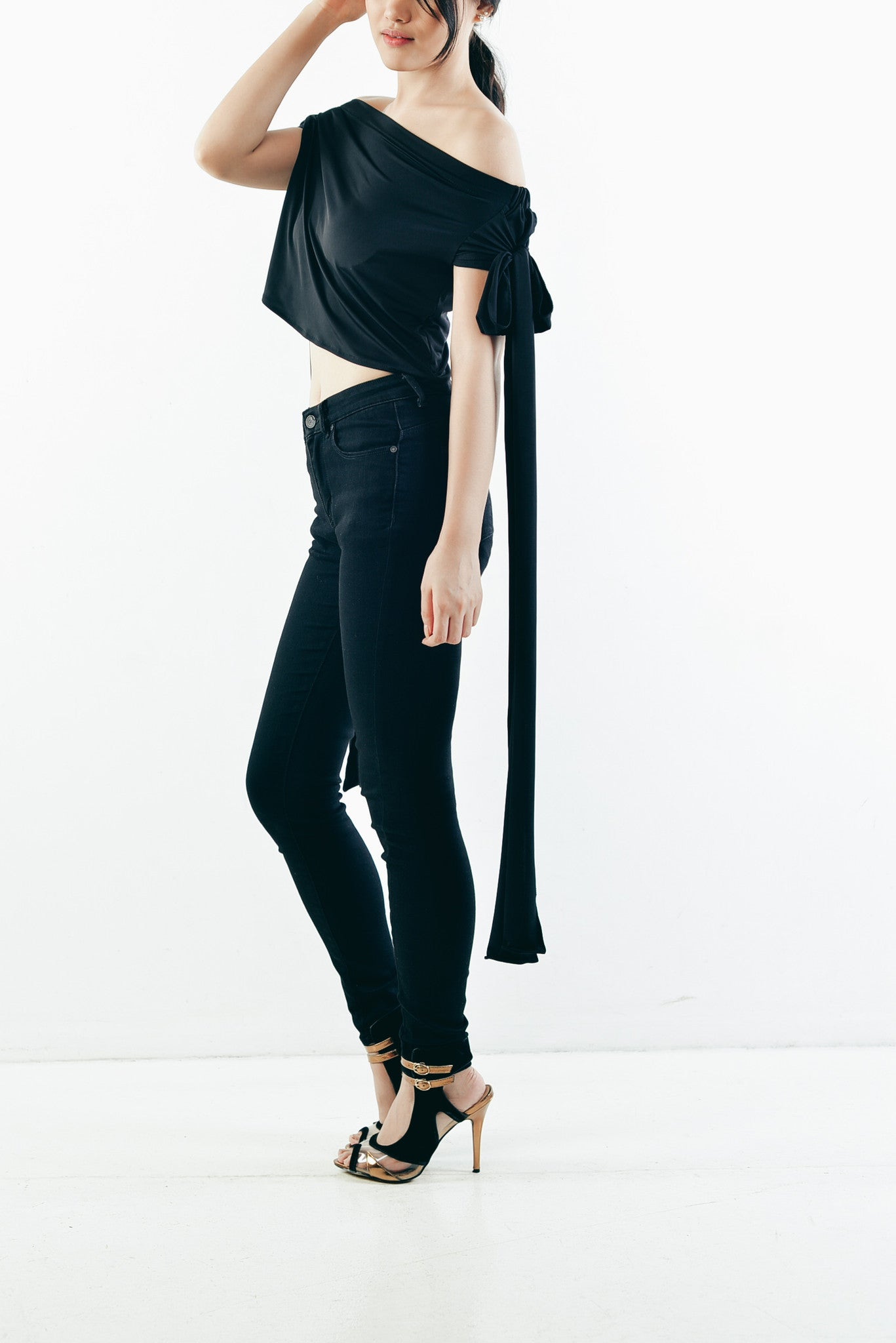 Adele Top in Black