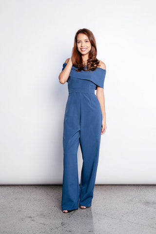 Wila Jumpsuit in Navy