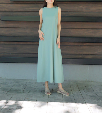 Donoma Dress in Olive Green