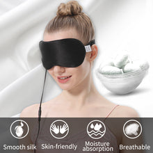 Load image into Gallery viewer, Portable Silk Eye heating Pad