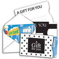 Gift Card Accessories