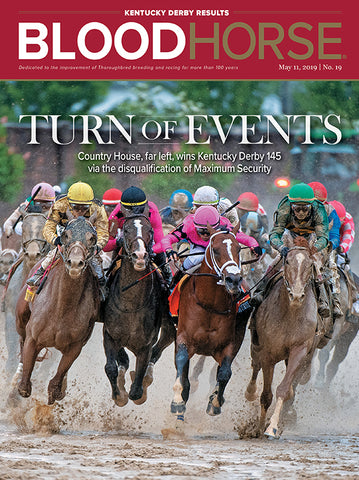 BloodHorse:  May 11, 2019 print - Kentucky Derby results issue