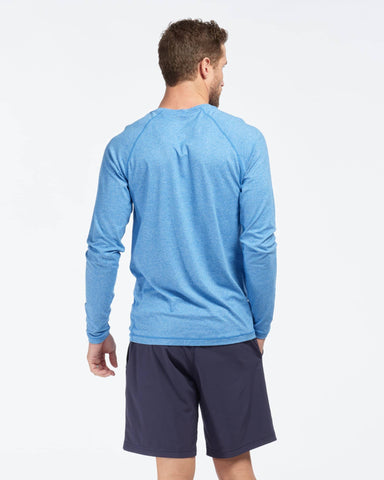 Reign Long Sleeve Track Blue Heather / Small / Noneback image