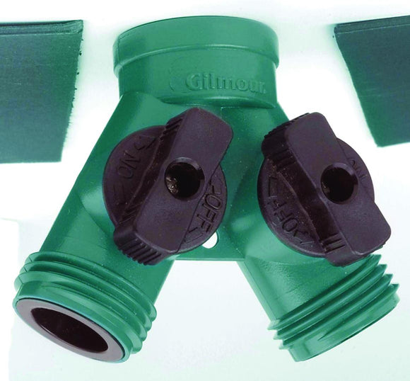 Fiskars Brands-Watering-Poly Dual Shut-off Connector