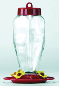 Apollo Investment Holding - Glass Hummingbird Feeder