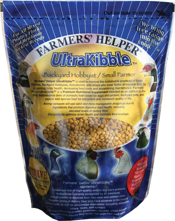 C And S Products Co Inc P - Farmer's Helper Ultrakibble