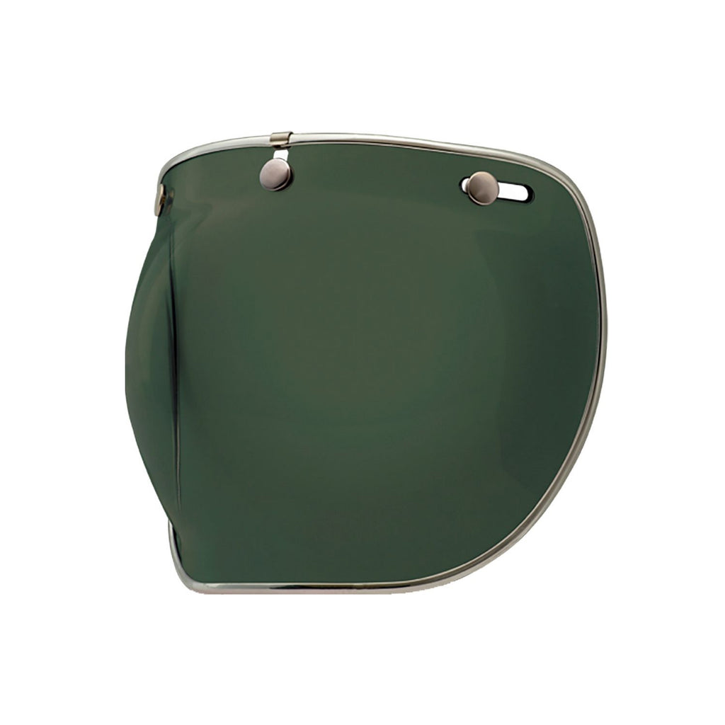 3-SNAP BUBBLE SHIELD - WAYFARER GREEN