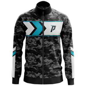 Panik Gaming Premium Label Performance Zip Up Track Jacket