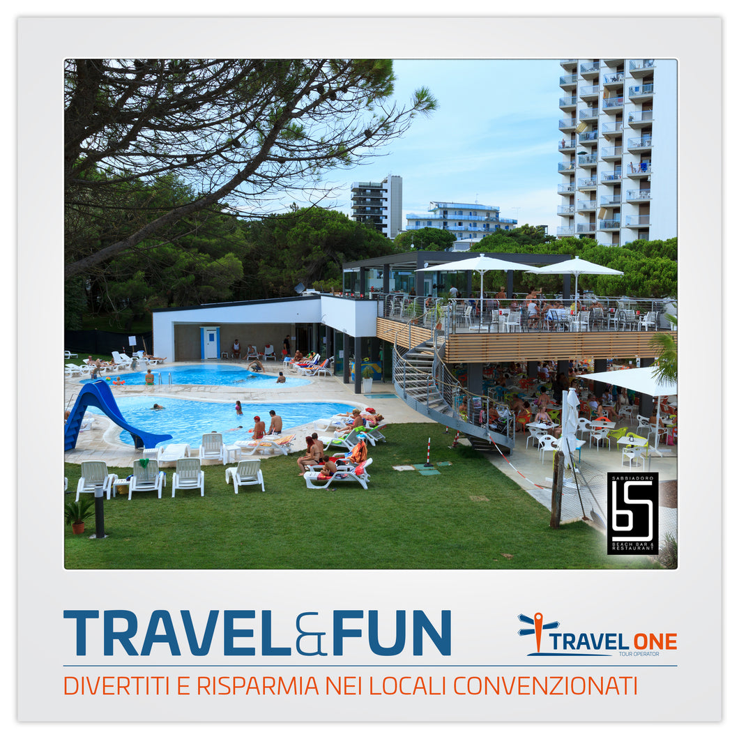 Divertiti al Bar Sabbiadoro con Travel One!