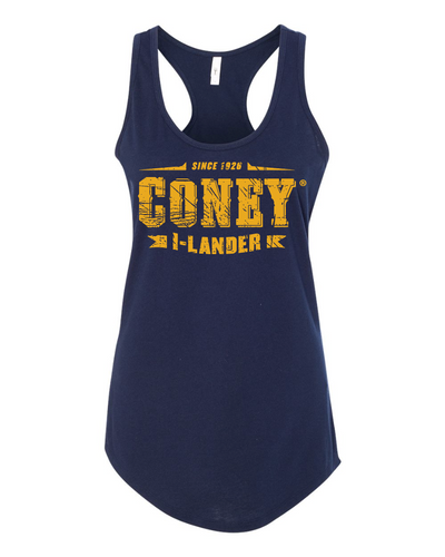 Coney Stamp Logo Tank