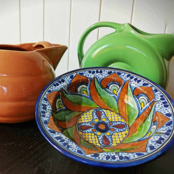 Serendipity Bauer Hall Pottery Perfect Partners with Talavera