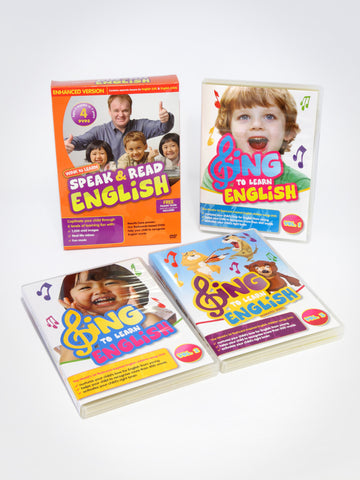 Learn English DVDs Value Bundle