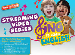 SING to LEARN English Online Digital Video Streaming Series